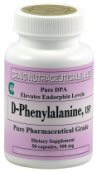Low levels of endorphins have been noted in those suffering from chronic pain, and. supplementation with D-Phenlyalanine helped to increase these levels..