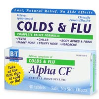 Alpha CF by Boericke & Tafel can bring your body the relief it needs from the cold or flu virus today..