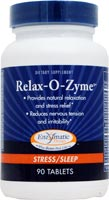 Seacoast Vitamins: Enzymatic Therapy - Relax - O - Zyme 90 Tablets $11.99 Dietary Supplement provides natural relaction and nervous system support* Stress/Sleep.