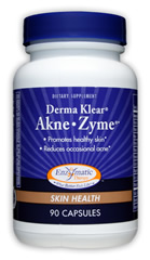 Enzymatic Therapy - Derma Klear Akne Zyme $11.90 Promotes healthy skin, Reduces occasional acne.