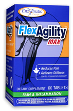 FlexAgility MAX for pain reduction and increased flexibility for overused muscles..