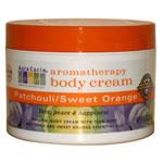 Patchouli/Sweet Orange Aromatherapy Body Cream (8 fl.oz) moisturizes and invigorates..