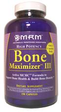 Bone Maximizer III 150 caps - Promotes Maximum Bone Health.