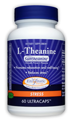 Enzymatic Therapy L-Theanine promotes relaxation and stress reduction without causing drowsiness..
