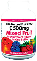 Natural Factors Big Friends Chewable Multi, Mixed Fruit Flavor are delicious, nutritious, and dinosaur-shaped- perfect for any child..