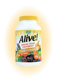 Nature's Way Alive! contains life-giving nutrients from more sources than any other supplement..