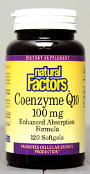 Coenzyme Q10 softgels are essential for cellular energy production. 100% natural and naturally fermented..