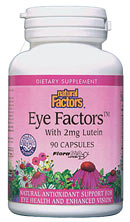Natural Factors Eye Factors with Lutein (90 Caps) is a specially designed product with support of the eye mind..