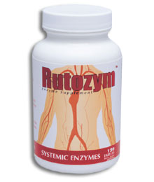 Rutozym from Naturally Vitamins aids in cardiovascular health by improving blood flow, strengthening blood vessels, managing blood pressure, and improving circulation..