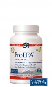 Nordic Naturals' ProEPA delivers a healthy blend of omega-3 fatty acids, especially EPA, which are vital to healthy brain function, a healthy heart, and increased joint mobility. Burp free!.