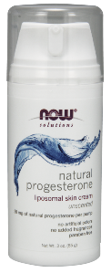 Liposomal Skin Cream with Natural Progesterone from Wild Yam helps to balance hormone levels during menopause..