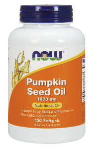 Each serving of NOW Pumpkin Seed Caps delivers an impressive 2 grams of EFA rich pumpkin seed oil i.