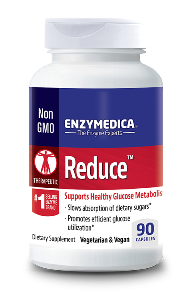 Reduce with Glucoreductase has been shown to support blood sugar (glucose) balance..