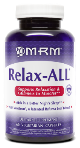 MRM has formulated Relax-ALL to calm and soothe a body while elevating mood and outlook..