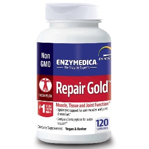 Repair Gold has been formulated to support muscle, tissue and joint recovery, as well as systematic inflammation..