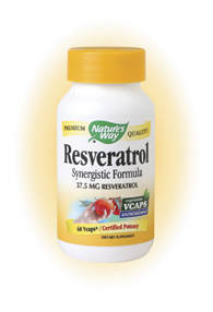Resveratrol is an excellent antioxidant that may provide nutritive support for heart and cardiovascular health..
