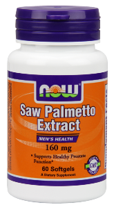 NOW Saw Palmetto delivers 160 mg of premium saw palmetto extract, and is naturally rich in bioflavonoids, sterols and fatty acids, nutrients shown to help support optimal prostate health..