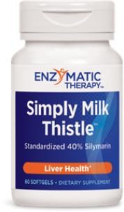 Simply Milk Thistle is standardized for consistency to contain 80% silymarin, a group of flavonoid compounds that have a tremendous effect in protecting the liver and enhancing detoxification processes..