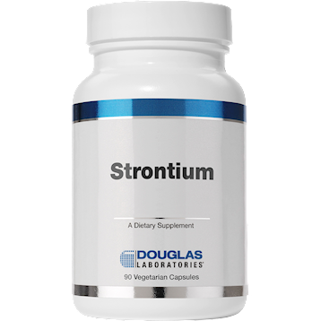 Strontium is one of the super trace minerals essential for bone health. Strontium helps increase bone density and support bone tissue growth. Boost Bone Health with Strontium..