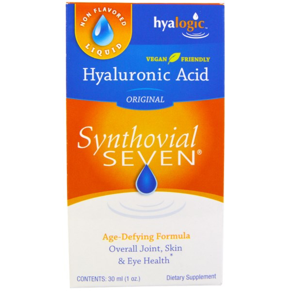 Synthovial Seven is an oral form of Hyaluronic Acid supplementation & works internally in the body to improve joint mobility & integrity..
