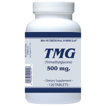 Research shows that TMG (Trimethylglycine) can help reduce elevated levels of homocysteine to normal and can help boost physical energy and mental alertness..