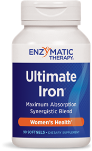Ultimate Iron is a natural source for ultimate energy, formulated for easy absorption without side effects.