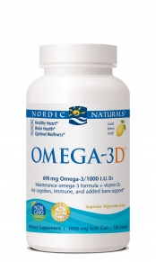 Vitamin D3 from Nordic Naturals provides the body with 1000 IU (International Units) of Cholecalciferol, the most absorbable form of Vitamin D with organic olive oil..