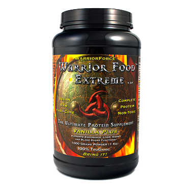 Best Protein Supplement Warrior Food Extreme (1000g)* by Healthforce Nutritionals. Buy your vanilla vegan protein supplement on discount at Seacoast Today!.