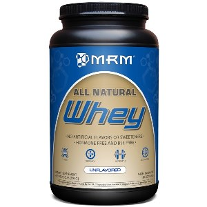 Non Flavored, All Natural Whey has nitrozyme added to help absorption of amino acids..