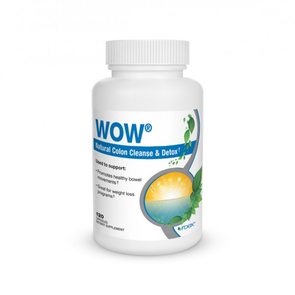 Wow Internal Cleanse from Roex is a proprietary blend of herbs to help cleanse the intestines, therefore promoting healthy digestion & absorption. Gentle Herbal laxative..