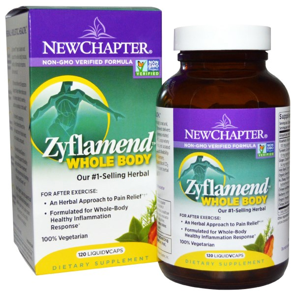 New Chapter's patented formula, Zyflamend Whole Body Capsules represents a scientific breakthrough in promoting a healthy inflammation response..